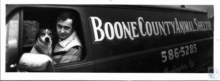 Image: di26242 - Boone Co. Animal Shelter van
