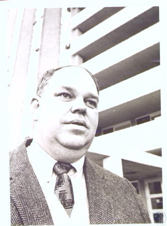 Image: di27160 - Bill Clark, head of Newport Housing Authority