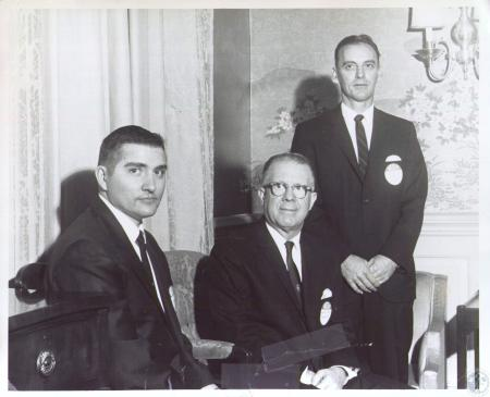 Image: di27344 - William C. Foutch, Charles McCormick (Supt. Of Camp. Co. Schools), Thomas N. McArter