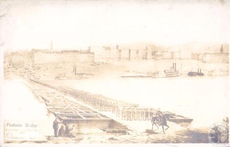 Image: di27873 - Pontoon Bridge Covington to Cincinnati