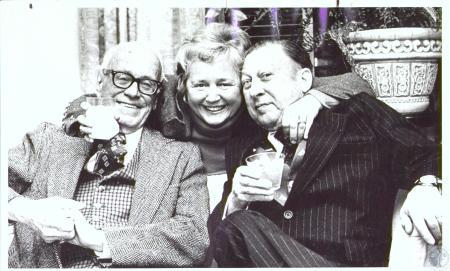 Image: di29300 - Ted Glenn, Mrs. Gordon Hood and Ben Castleman