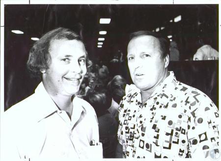 Image: di29551 - Bob Lehman (31) and A.J. Foyt (43) at Latonia Race Course