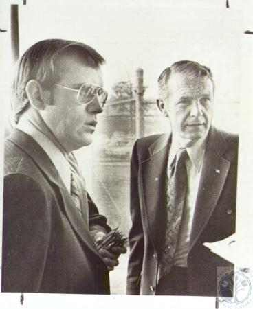 Image: di29887 - John Clark and Wendell Ford during Governor Campaign