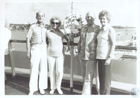 Image: di30068 - (L-R) Mr. and Mrs. Robert Ballman, Mr. and Mrs. R.C. Smith