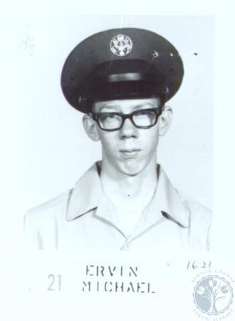 Image: di31124 - Airman Mike Ervin finished basic training