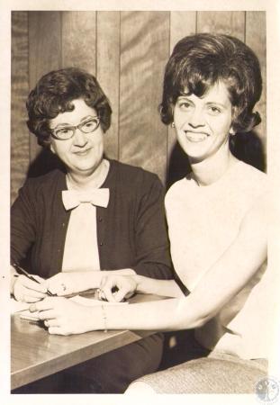 Image: di31585 - Mrs. C.E. Whalen, Mrs. Glenn Baird