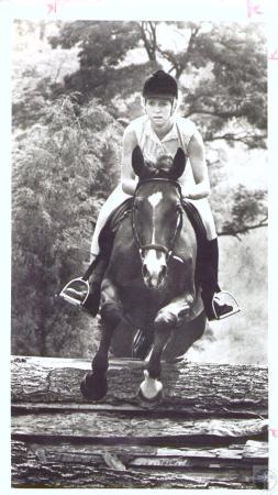 Image: di31811 - Sandy Weber (19) at Centre Farm Saddle Club charity horse show