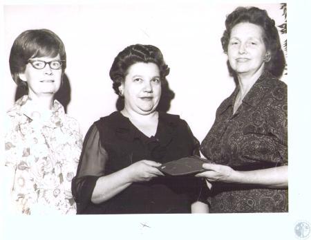 Image: di32037 - Mrs., Randall Gray, Mrs. Arthur Wedding, Mrs. Blair Branham