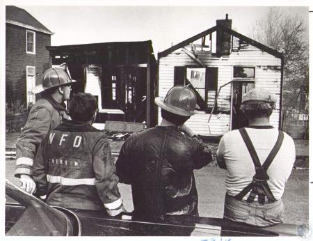 Image: di32354 - Newport house fire