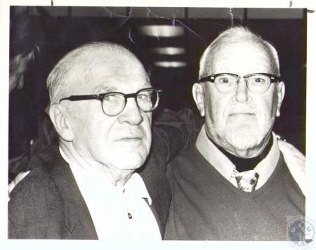 Image: di33434 - Fiddy Sturm (79) and Chester Brunson (88)