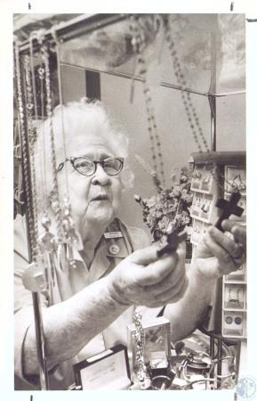 Image: di33483 - Mrs. Mary Summers (84), Saint Elizabeth Hospital volunteer