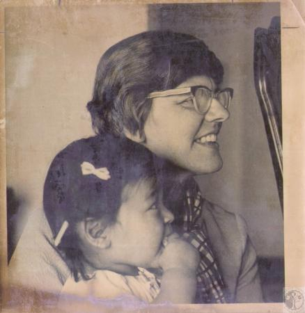Image: di33746 - Sister Kathleen Terlau, OLVM, formerly of Fort Mitchell, KY now a caseworker in International Adoptions,....