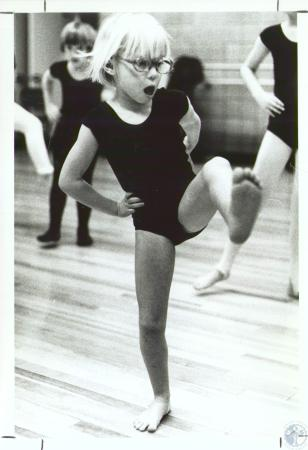 Image: di34142 - Kathy Snyder (6) at dance class at NKU