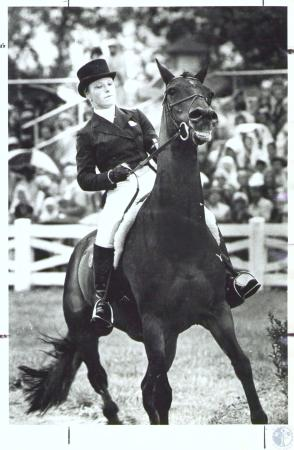 Image: di35245 - Mary Ann Tauskey and horse