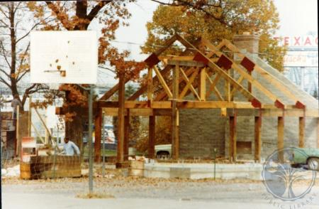 Image: di39307 - Construction of Goebel Park shelter house