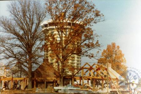 Image: di39310 - Construction of Goebel Park shelter house