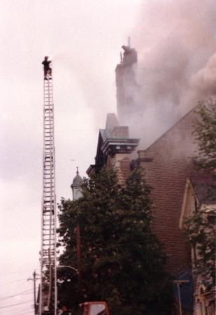 Image: di39584 - Burning of St. Aloysius