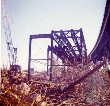 Image: di39668 - Demolition of C&O Bridge