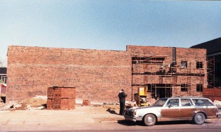 Image: di39715 - Construction of addition to First Baptist Church