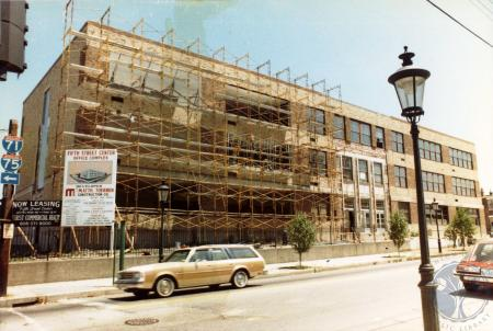 Image: di39760 - Converting the 3rd District School Building into an office structure