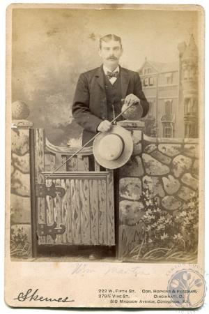 Image: di42919a - William Martin Photographer Skewes, 222 W. Fifth St. Cor. Hopkins and Freeman, 279 1/2 Vine St. Cincinnati,....