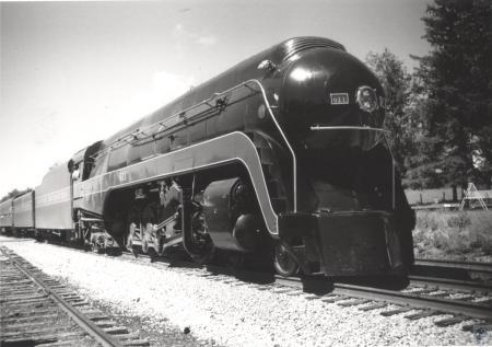 Image: di43303 - Restored Norfolk & Wester J-class steam engine