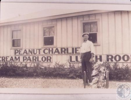 Image: di45090 - Peanut Charlie's, on KY 17 (man unidentified - Charlie?)