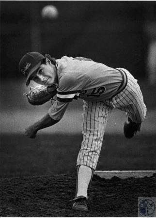 Image: di54154 - Newport Catholic High School Baseball pitcher
