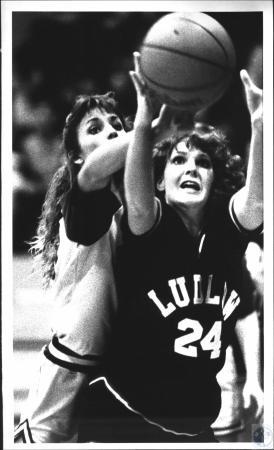 Image: di54223 - Ludlow High School vs Bishop Brossart High School girl's basketball game