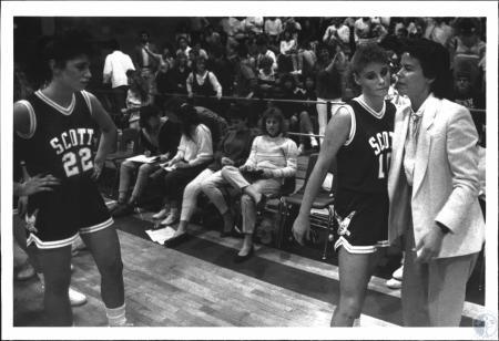 Image: di54342 - Scott High School Girls Basketball