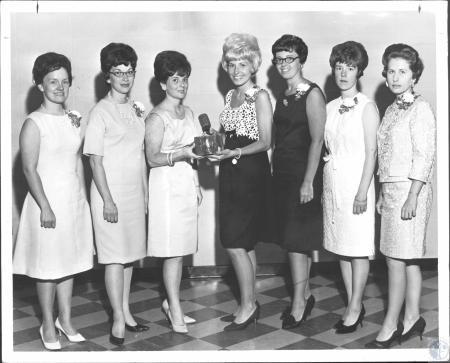 Image: di59172 - Officers Junior Department Fort Thomas Women's Club: Mrs. James Campbell, Mrs. Robert Fickenscher, Mrs.....