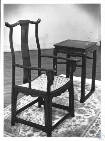 Image: di61678 - Chair made by Lynn B. Sweet on display at Carnegie Arts Center