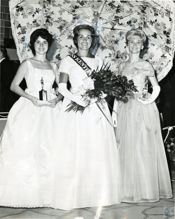 Image: di66401 - Miss Frances Brannen, South Fort Mitchell, was selected Miss Kenton County Fair. Second Place winner....