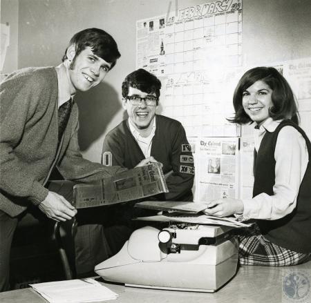 Image: di68115 - From left: Jim Joseph, Paul Kennedy, Chris Johnson.