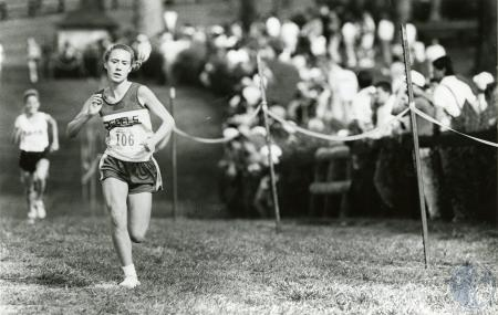 Image: di76221 - Unidentified female cross country runner for Boone County High School