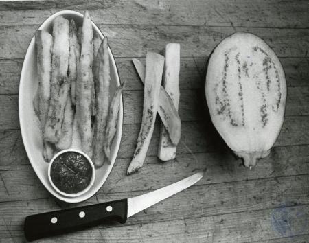 Image: di85869 - Eggplant. Prepared at F&N Steakhouse, Dayton.