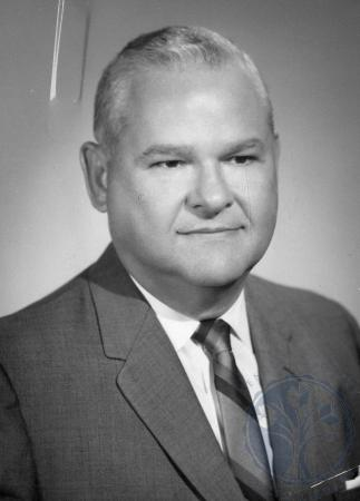 Image: di87623 - Woodrow W. Perry, President Cincinnati Bible Seminary