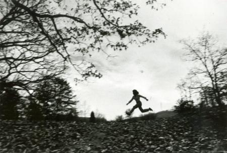 Image: di88070 - Diane Losey (23) running in Devou Park.