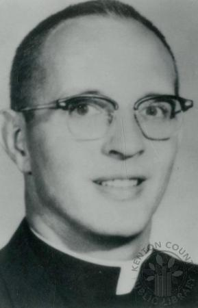 Image: di88098 - Father Paul Arborgast, principal of Covington Latin