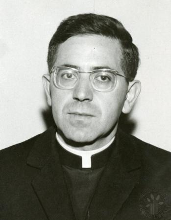 Image: di88570 - Rev. James Alonso stationed at St. Agnes parish, joining mathematics department faculty at Villa Madonna....
