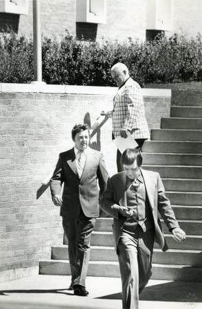 Image: di90064 - Mayor George Wermeling, Comm. Joe Brennan and Carl Bowman