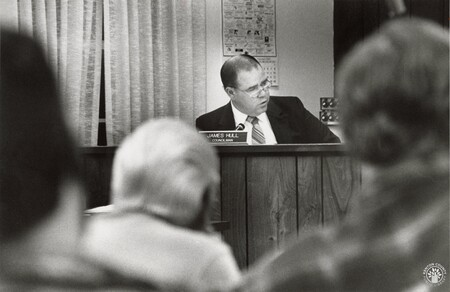 Image: di95297 - James Hull at the Alexandria City Council meeting, which he is now on.