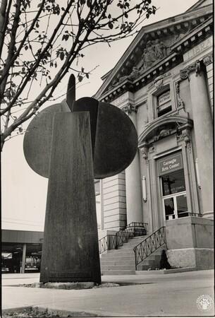 Image: di95614 - Carnegie Arts Center exterior, Scott St., Cov.