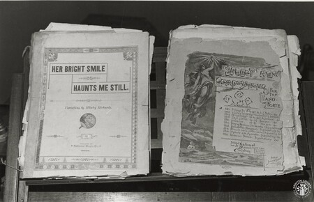 Image: di95812 - Papers at General Butler state park house.