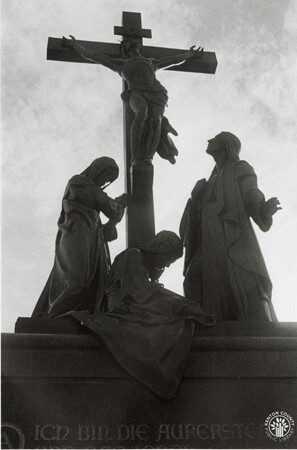 Image: di96134 - The crucifixion in Mother of God Cemetery in Latonia.