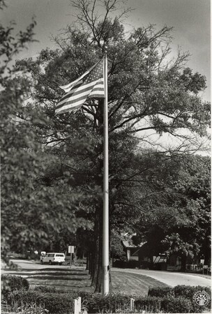 Image: di96278 - Flag in the city of Park Hills