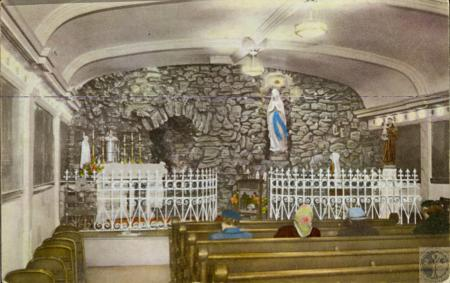 Image: kce000075posta - Our Lady of Lourdes