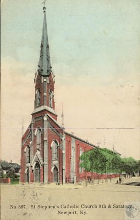 Image: kce000082posta - St. Stephen's Catholic Church 9th and Saratoga