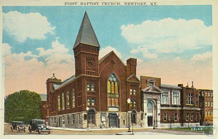 Image: kce000113posta - First Baptist Church