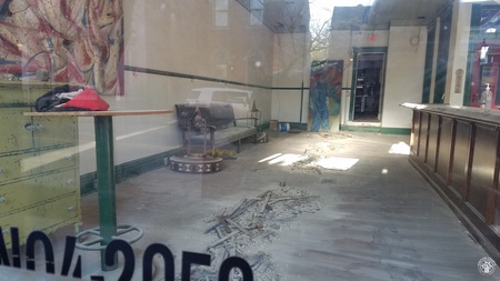 Image: kcpl062001006 - A number of restaurants took advantage of the lockdown to renovate. Ottos bistro had begun their renovation....